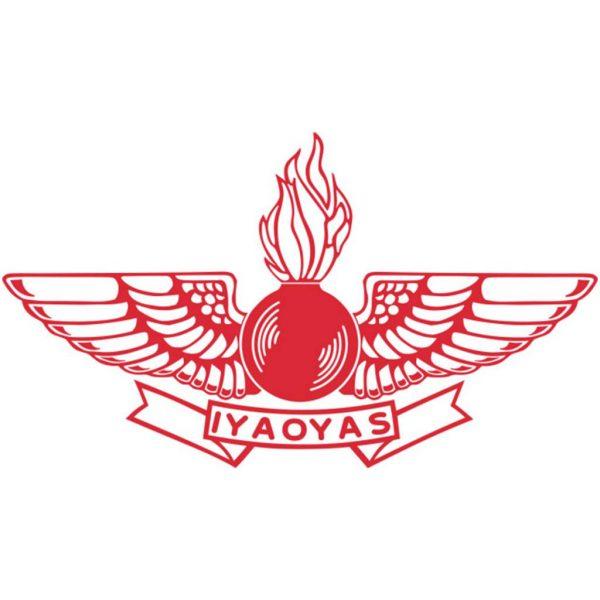 12-inch (Red) Aviation Ordnance Logo sticker with IYAOYAS ...