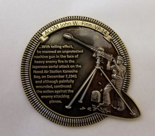 John W. Finn Commemorative Coin